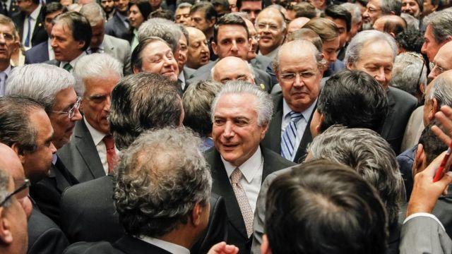 Temer tomou posse na quarta, após aprovação do impeachment de Dilma