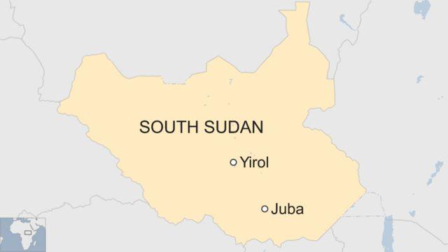 Danaa Sudaan Kibbaa kan Jubaa, fi Yirol agarsiisu