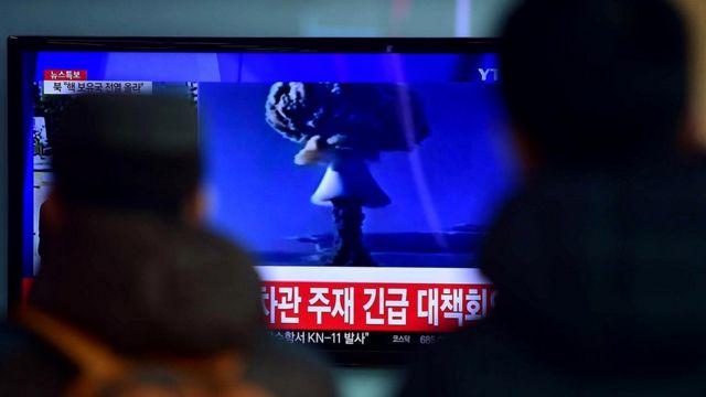 Северная Корея с торжеством показывала свои ядерные испытания