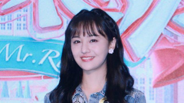 Atriz chinesa Zheng Shuang