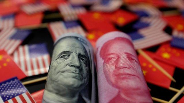 美元和人民币