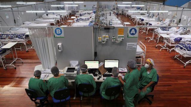 Hospital en Sao Paulo.