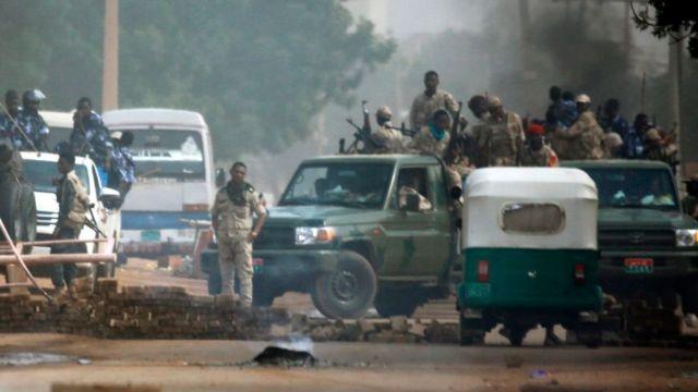 силовики в Судане