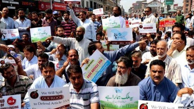 कश्मीर, 35-ए, अनुच्छेद 35-ए