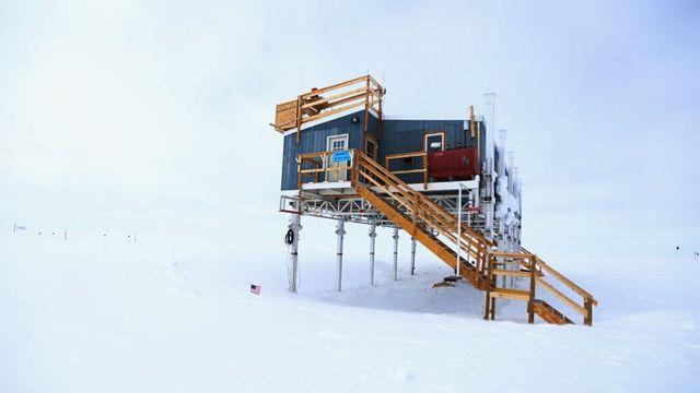 La estación de la Cumbre de Groenlandia