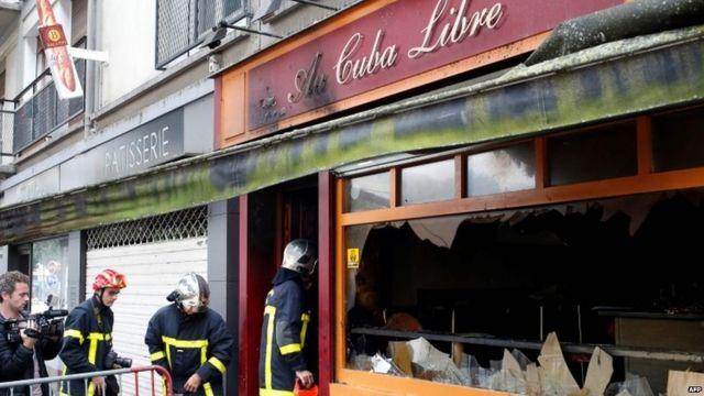 Cuba Libre bar in Rouen, France