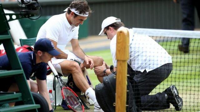Roger Federer estará fuera del circuito hasta el año que viene.