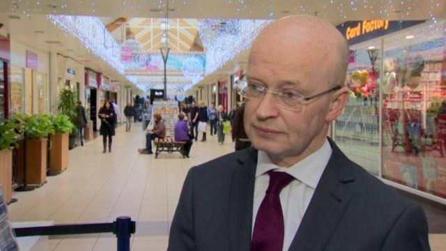 Buttercrane shopping centre manager Peter Murray said visitors from the Republic of Ireland were still coming north
