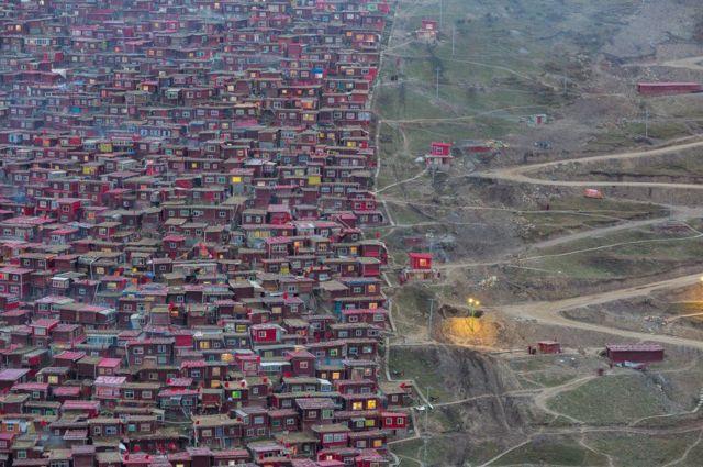 مستعمرة بوذية