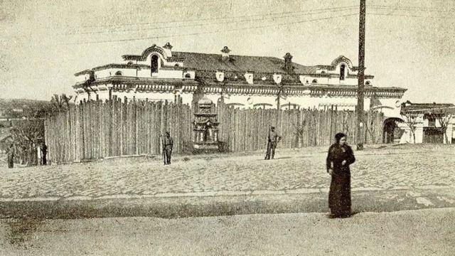 La residencia del comerciante Nikolái Ipátiev en Ekaterimburgo, en el centro-oeste de Rusia.