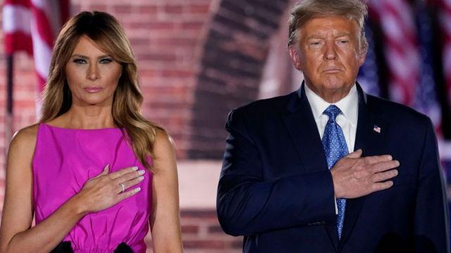 Tổng thống Trump và Đệ nhất phu nhân