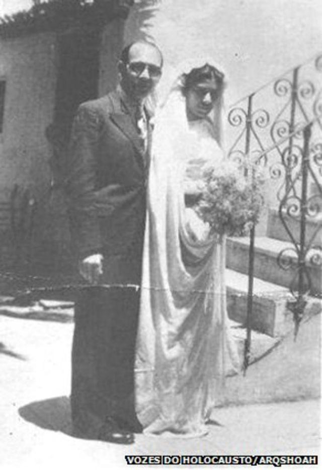 Casamento de Sara Leah e Isaac Menache, 1938
