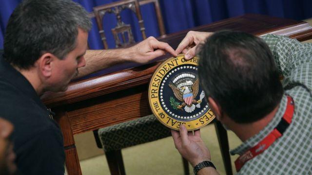 ホワイトハウスの主が交代するまで1年を切った