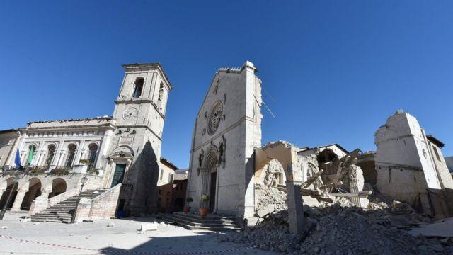 Norcia, Italy, earthquake