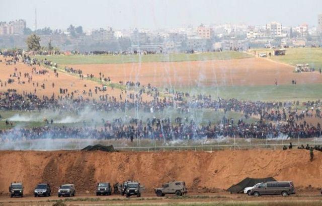 เหตุปะทะที่พรมแดนอิสราเอล-ฉนวนกาซา