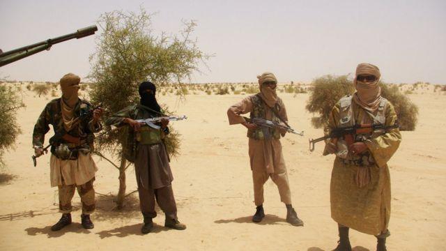 Abarwanyi ba ki Islam bo muri Mali bafise ibirindiro ku rubibe na Burkina Faso