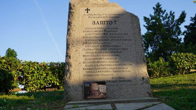 Spomenik stradalima u RTS-u 23.4.1999. godine, Tašmajdan, Beograd
