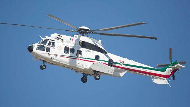 El próximo gobierno de México prevé eliminar la flotilla de helicópteros y aviones oficiales.