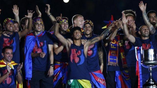 Barcelona's Neymar and Bartomeu face fraud inquiry