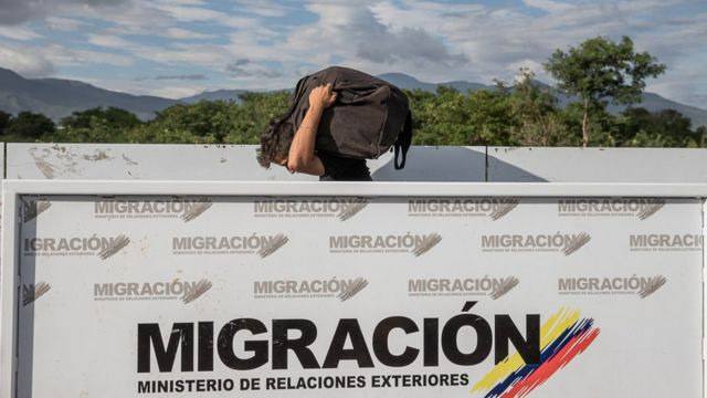 Frontera de Venezuela y Colombia.