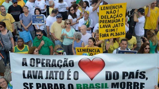 Manifestação de apoio à Lava Jato no Rio