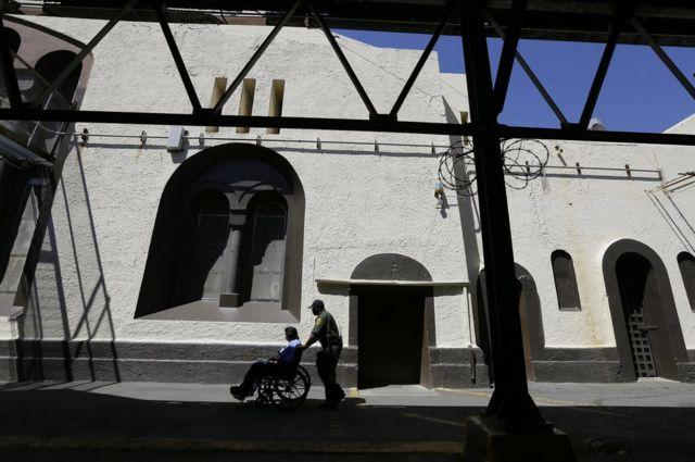 زندان سن کوانتین، کالیفرنیا، ماه اوت ۲۰۱۶