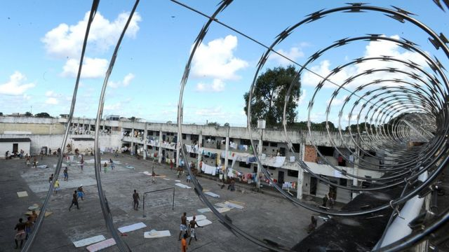 Presídio na Bahia