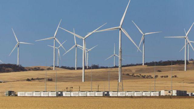 Hornsdale Power Reserve, no sul da Austrália