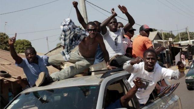 الانتخابات في غامبيا