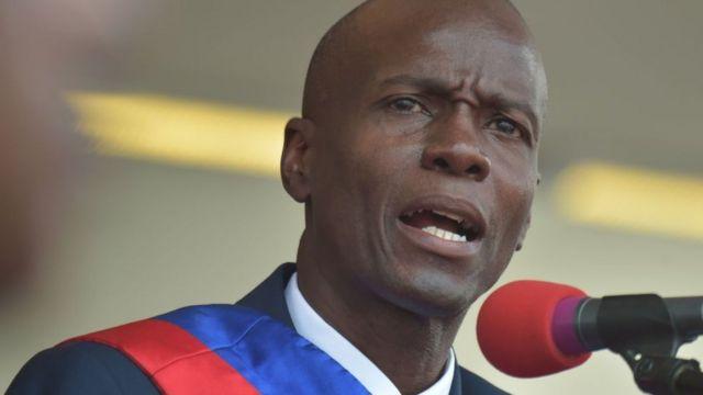 El presidente de Haití, Jovenel Moise.