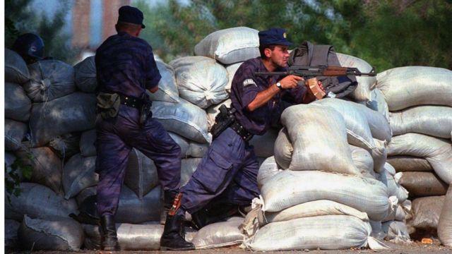 Pripadnici MUP-a Srbije, Kosovo, 1998.