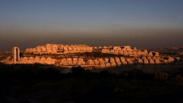 مستوطنة هار حوما في القدس الشرقية المحتلة. (يونيو/حزيران، 2009)