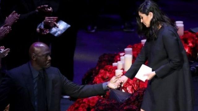 Michael Jordan ve Vanessa Bryant