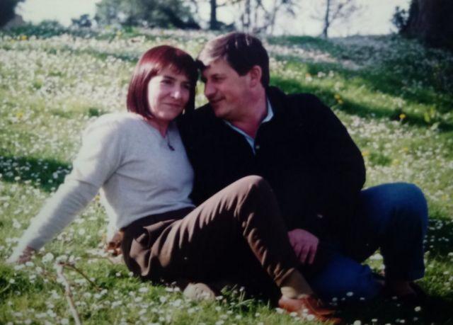 Maixabel Lasa y Juan Mari Jauregi