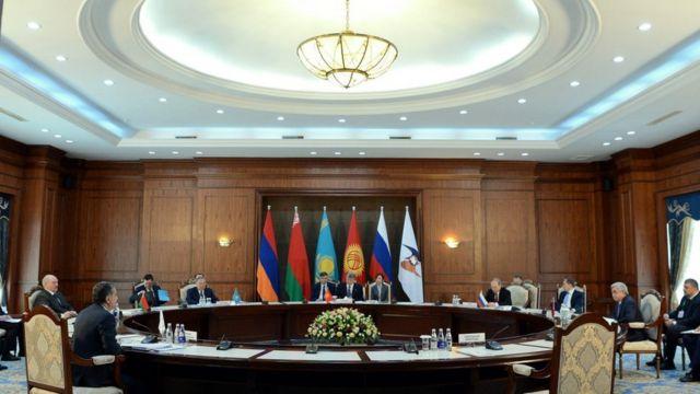Бишкекте Жогорку Евразиялык экономикалык кеңештин жыйыны башталды