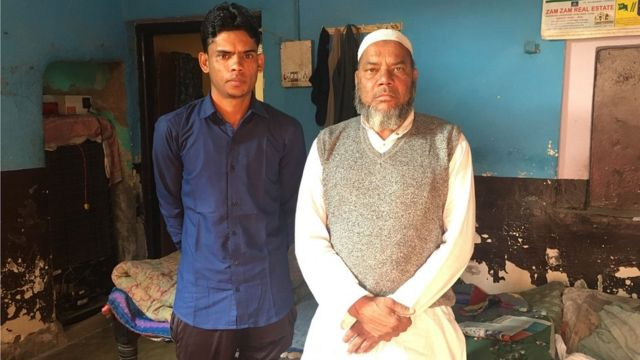 ஷாகீர் தனது தந்தையுடன்