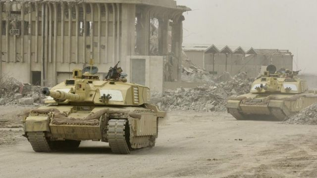La guerra de Irak en 2003