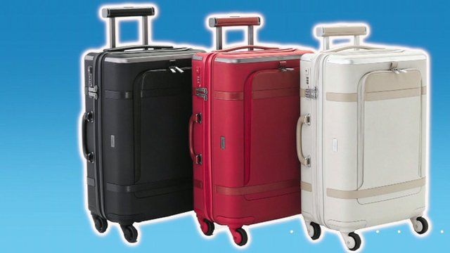 The suitcase which can control your phone and other gadgets
