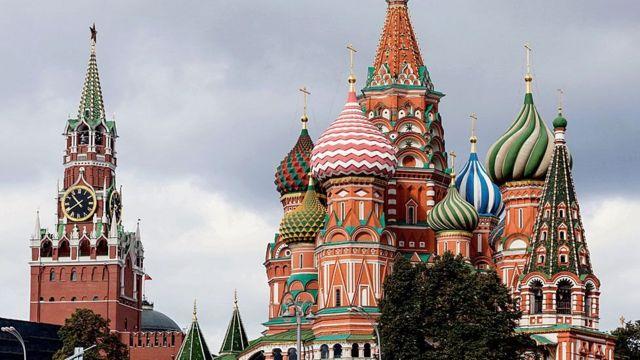 Catedral de San Basilio en Moscú.