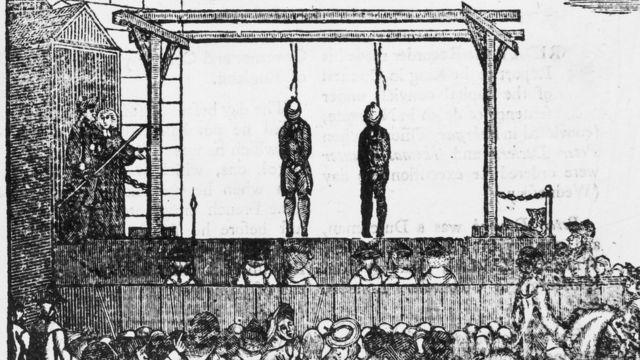 Ejecución en 1660.