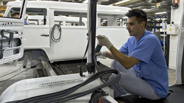 Fábrica en Brasil