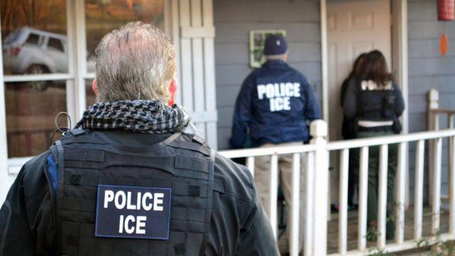 Funcionários do ICE