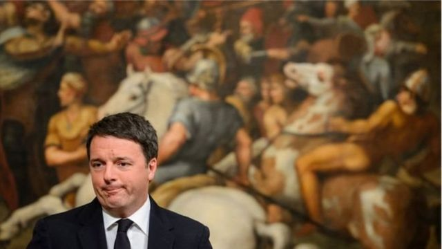 Mr Matteo Renzi ya ce ya dauki alhakin sakamakon zaben