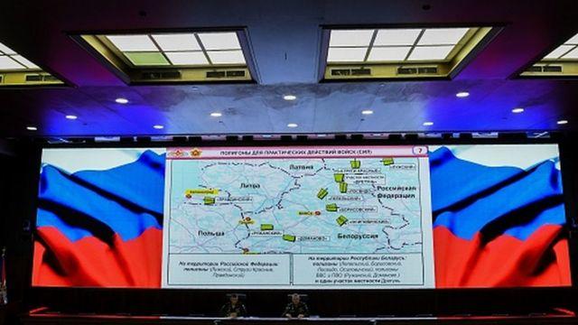 Bản đồ Zapad-2017