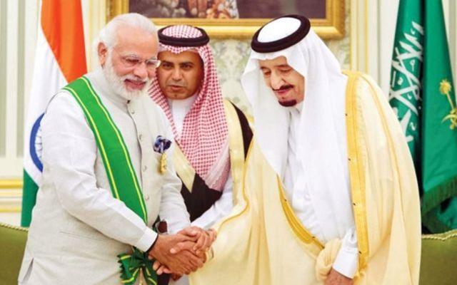 नरेंद्र मोदी और शाह सलमान
