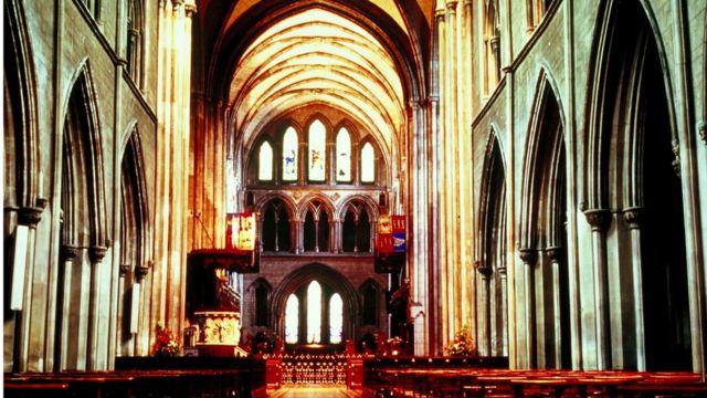 В Соборе св. Патрика, крупнейшем храме Ирландии
