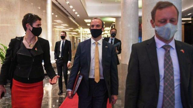 Đây là chuyến thăm Việt Nam thứ hai trong vòng 9 tháng của Ngoại trưởng Anh Dominic Raab.