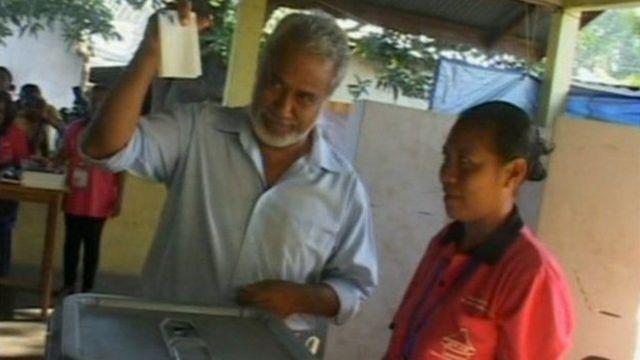East Timor kushiriki katika uchaguzi