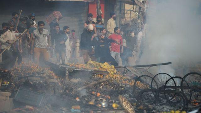 उत्तर पूर्वी दिल्ली में हिंसा