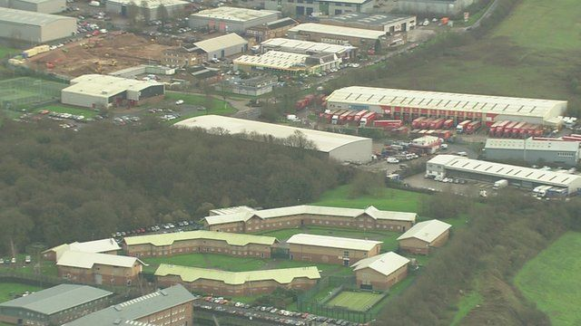 Aerial view of the Medway centre